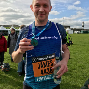 WWF Great South Run 2019 James