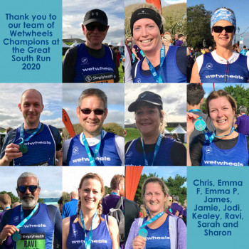 WWF Great South Run 2019 runners